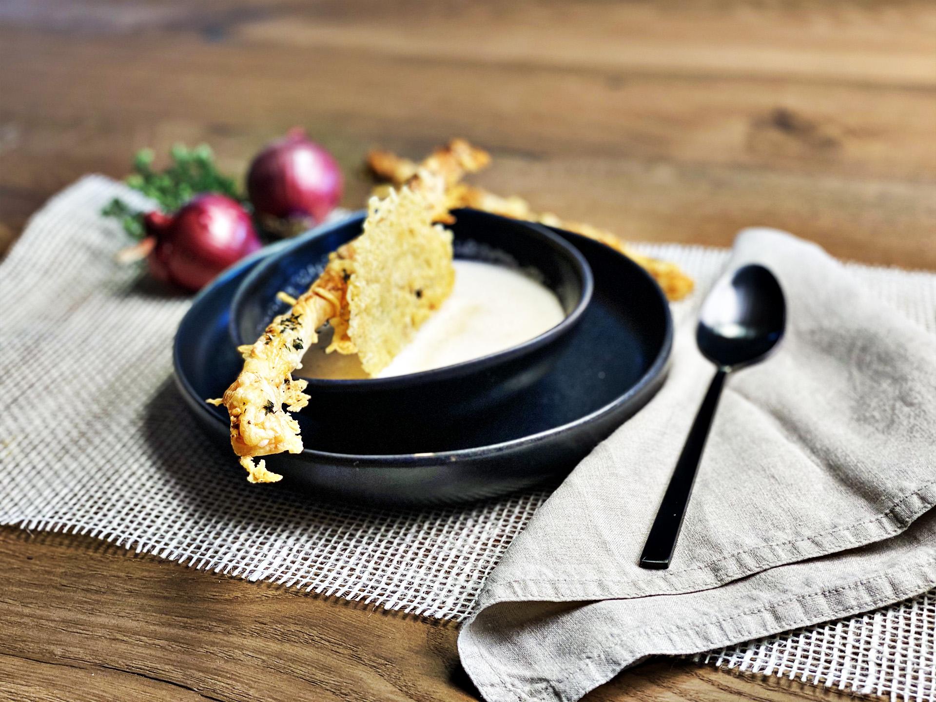 Most-Käse-Schaumsüppchen